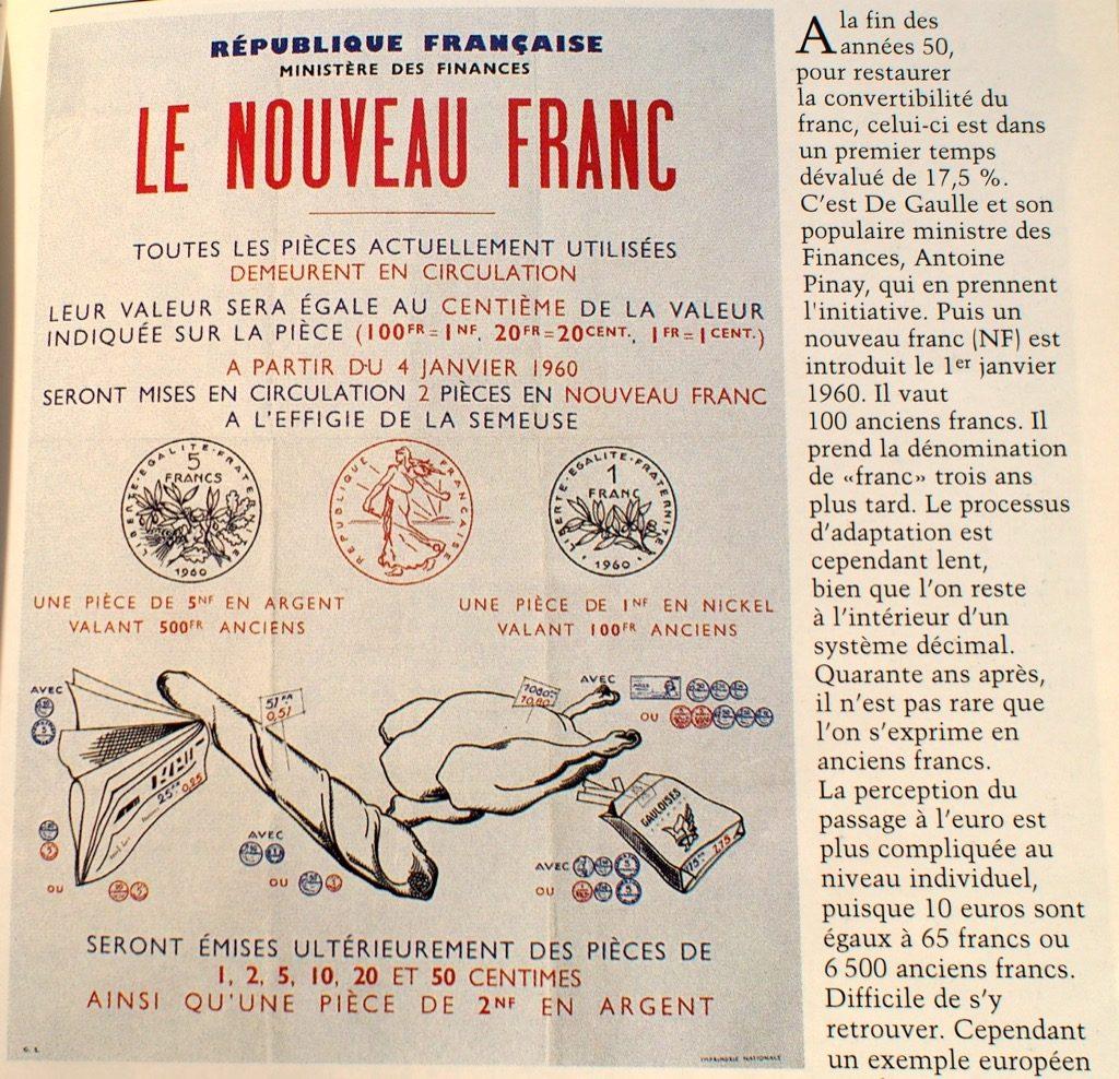 nouveau franc francais
